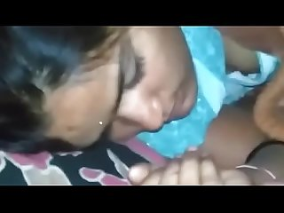 Sexy Desi girl molested by horny pervert when in sleep