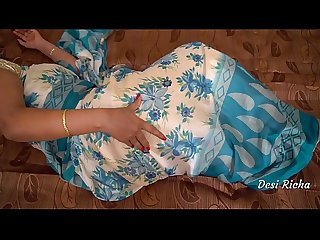 Desi richa bhabhi nude show with clear Hindi audio