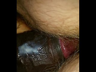 Bdb big black cock fucking Young white hairy Teen pussy doggystyle and makes her cum period