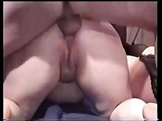 Chubby blonde amateur kandi peach gets her ass fucked by 20 different guys