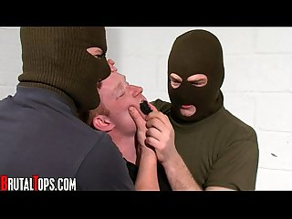 Kidnap bound gagged gay