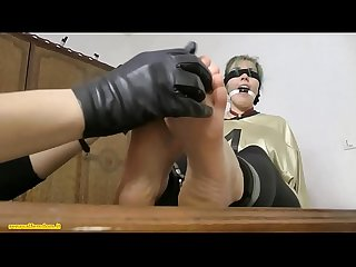 Secretary chloroformed tied up ballgagged blindfolded tickled and handsmothered