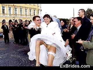 Real brides show it all excl