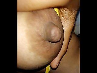 Sandhay rani pussy massaging 1