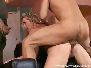 Squirting swinger wild ride