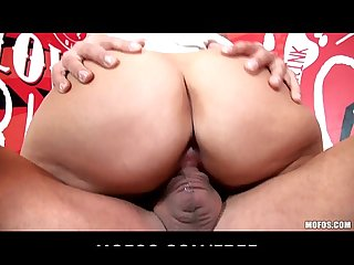 Big boob ass blonde babe zora white is fucked hard to orgasm