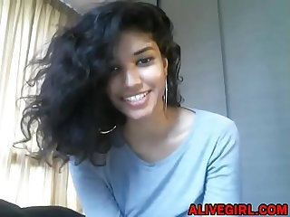 Sweet teen cleopatra love with perfect natural breast on cam alivegirl period com