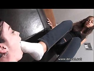 Dominated by feet