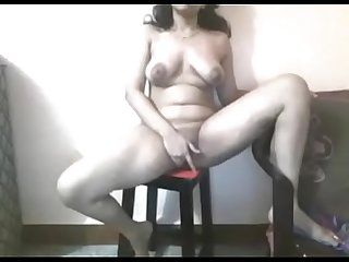 Indian beauty nude webcam show