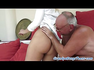 Amazing young babe screwed