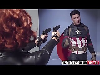 Xxx porn video captain america a Xxx parody