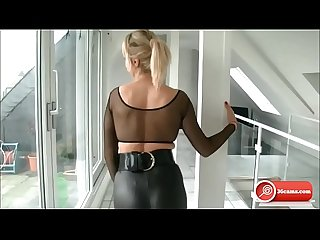Wichsanleitung JOI German Blonde Dirty Talk
