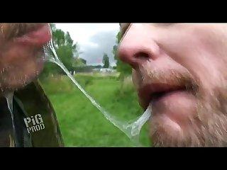 Kissing videos