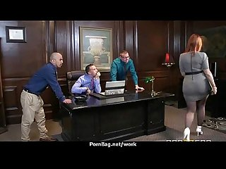 Sexy wild milf loves rough sex at work 2
