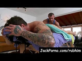 Gay massage with happy ending rub him video5