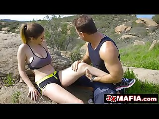 Sporty Brit Stella Cox Saying Thank You With Steamy Hardcore Sex