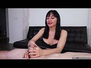 Squishy Stroker - Superb MILF Handjob from Natasha Ola