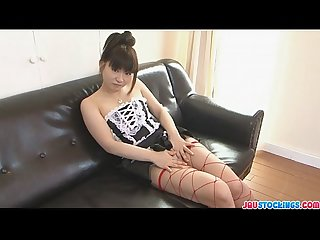 Softcore solo with akane ozora having fun with her clit