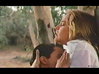 Sharon stone sex scene from love scene in woods