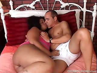 Big beautiful busty black BBW loves to fuck