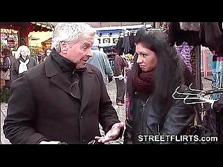 Streetflirts com amateur porn casting