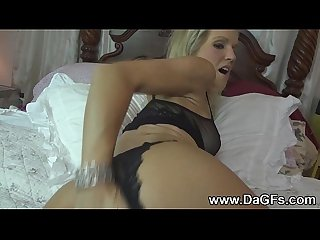 Experienced wife anal foreplay