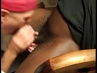 Mamando A piroca negra