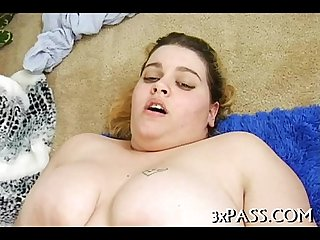 Big nice-looking woman porno