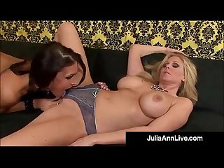 Busty Milf Julia Ann & Lesbo Jessica Jaymes Love Wet Cunts!
