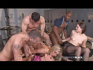 PrivateBlack Amy Brooke Carla Cox & Bobbi Starr Fuck 3 Studs