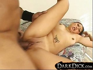 Asami First Black Cock Interracial Fucking