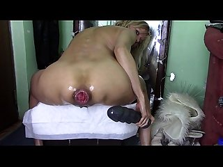 Mega dildo in culo con prolasso - from sexywebcams.pl