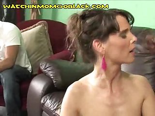 Black Cum for Sexy MILF