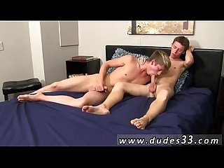 Gay anal fisting with blowjob kellan deep throats and eats away