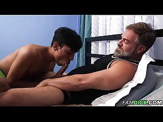 Latino Twink Exchange student fucked