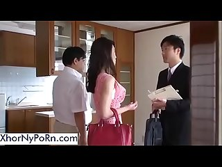 The realtor fucks this sexy asian wife xhornyporn period com
