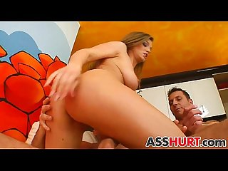 Rita gets rough anal