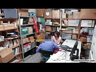 Shoplifter kat arina gets Bang in The office