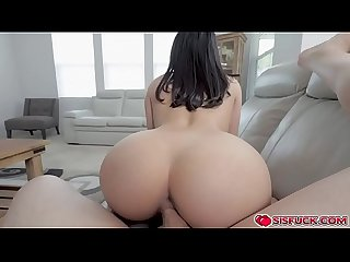Jasmine sucking and fucking Jay's stiff shaft