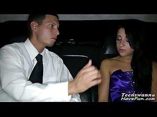 Teen fucks on prom night