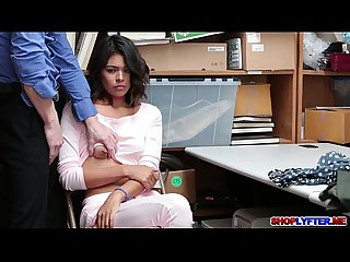 College thief kat arina fucked in the office