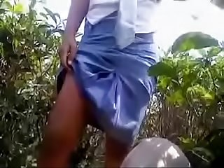 Desi gf outdoor