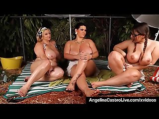 Bbws angelina castro sam gg lexxxi share dirty camp tales