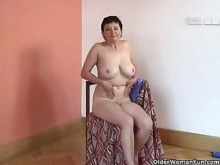 Hairy Granny with Big Tits- More videos on milfporn4u.easyxtubes.com