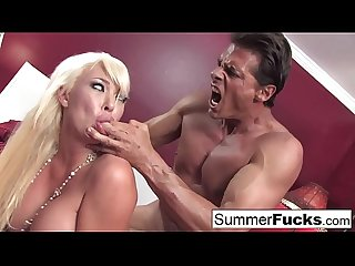 Summer Brielle gets a good fucking from Nick Manning