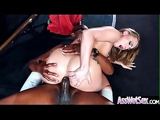 (AJ Applegate) Horny Girl With Big Oiled Ass Get It Hard In Her Behind clip-03