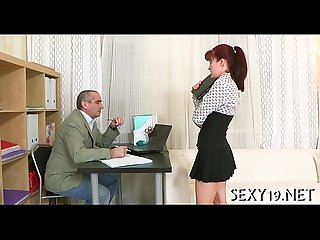 Sex lesson with excited teacher