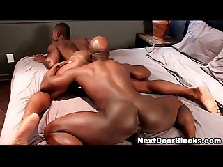 Black ass gets rimmed and rammed7)