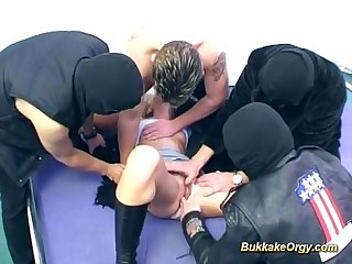 German amateur rides dicks for cum