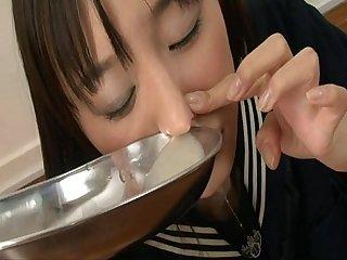 Extreme cum snorting